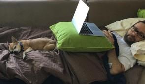დენიელ ნეგრანუ ძაღლის გარდაცვალებას გლოვობს